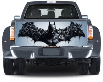 Truck Tailgate Graphics Batman Villains Vinyl Decal Color Sticker Trunk Wrap