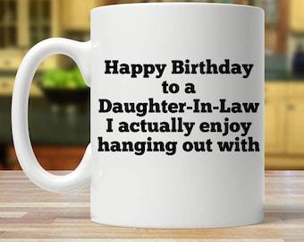 Daughter in law mug, Daughter in law gift, Daughter's day mug, Daughter in law gifts, Mug for daughter in law, Daughter-in-law