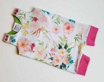 Floral Romperalls, Body Suit, Romper