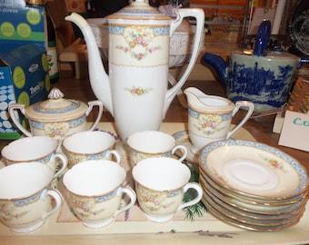 Noritake Cocoa Pot set