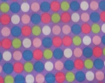 Cotton fabric liberty pattern round multicolor pastel