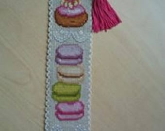 Fabric personalized bookmark