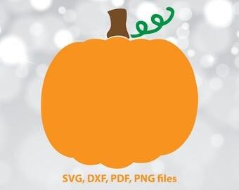 Pumpkin SVG File, Pumpkin DXF, Pumpkin Cut File, Pumpkin PNG, Pumpkin Cricut, Pumpkin Silhouette, Pumpkin Vector art, Pumpkin Cutting file