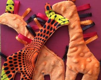 Giraffe Crinkle Toy!