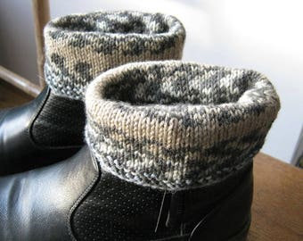 Mottled for shoes or wrist cuffs