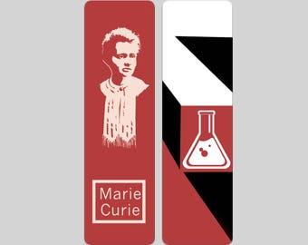 Marie Curie Bookmark