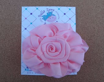 Flower Classic Grosgrain Bow (4 colors available)