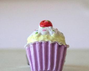 Purple Cupcake ring