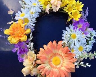 Assorted Flower Wreath