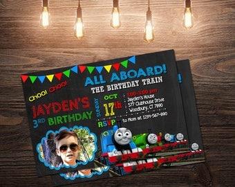 The Train Invitation,The Train Birthday Invitation,The Train Party,The Train Birthday,The Train Invite,The Train Printable,The Train