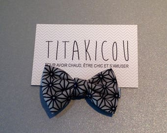 """Hair clip """"Origami"""" beauty without the wick rebel!"""