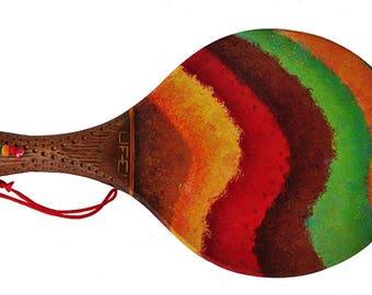 Artistic handmade shoe