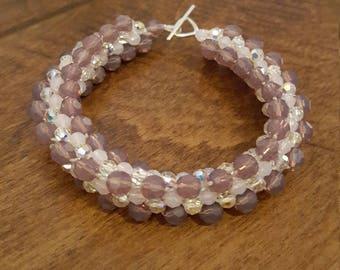Swarovski Crochet Bracelet