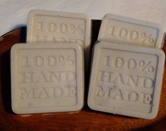 Scented or Unscented Bentonite Clay Soap (4 Pack)