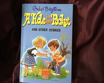FREE POSTAGE Enid Blyton A hole in her pocket and other stories vintage retro childrens book Darrell Waters