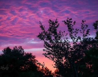 South Georgia Sunset Sky