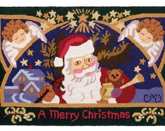 Claire Murray Antique Santa Rug-hooking Kit