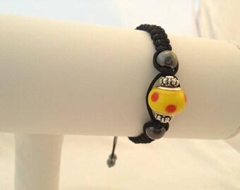 Adjustable macrame Friendship Bracelet