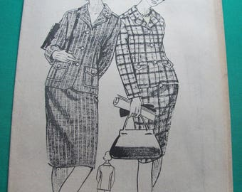 """Old 1965 """"women of today"""" sewing pattern No. 1035-Vintage"""