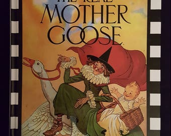 The Real Mother Goose, Nursery Rhymes, Bedtime Stories, Scholastic 1994