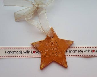 Wish Upon a Star Hanger / Key ring