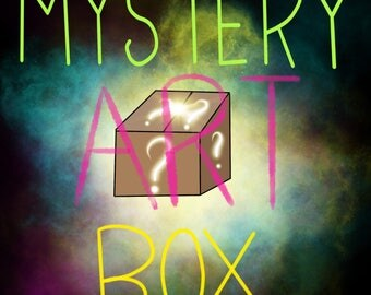 Freaking awesome MYSTERY ART BOX 2.0