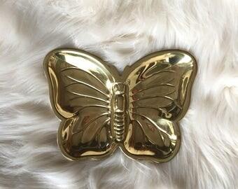 Butterfly Trinket Dish / Jewelry Dish / Butterfly Tray