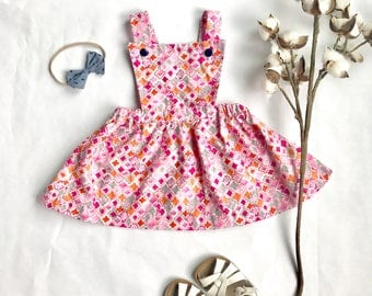 Emma - Pinafore Dress