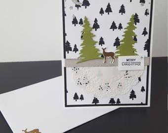 Christmas card, merry christmas