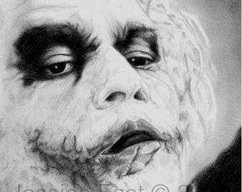 The Joker - Pencil Sketch