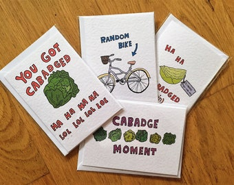 Cabadge Moment individual cards