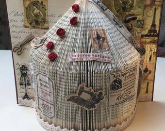 Book Folding Dressmaker House