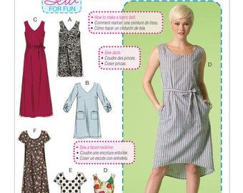 M7120 Mc Call's dress sewing pattern