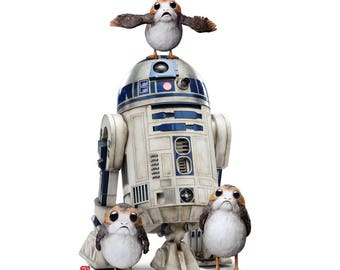 Star Wars: The Last Jedi Porgs™ with R2-D2™