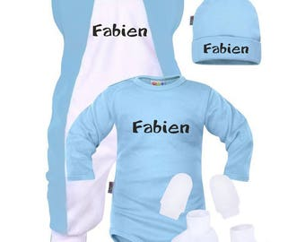 For a newborn baby boy set
