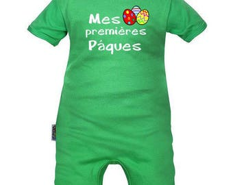 Easter baby romper: my first Easter