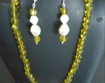 Absolutely stunning necklace and earring set