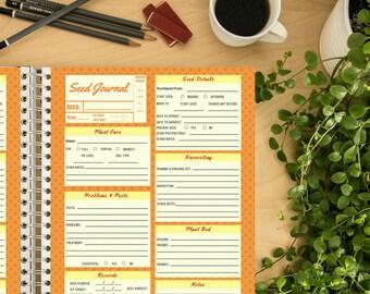 Seed Journal - Orange