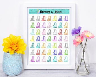 Vacuum Cleaner Icons | Planner Stickers