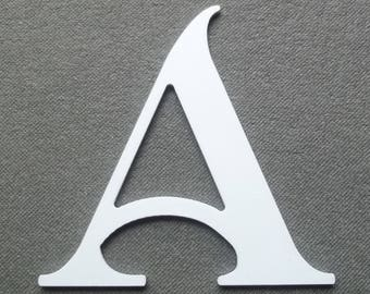 PVC plastic model SHANGRI-la letter; all letters available