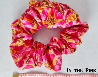 In the Pink ~ Handmade Scrunchies ~ LRG