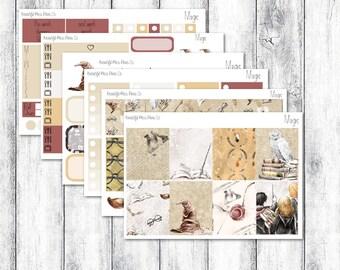 Magic // Erin Condren Vertical // Weekly Sticker Kit