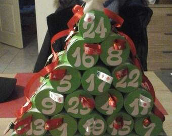 original and customizable advent calendar