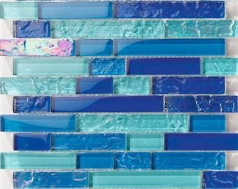 Pool Tile Bahama mix light Linear - tilesanddeco.com