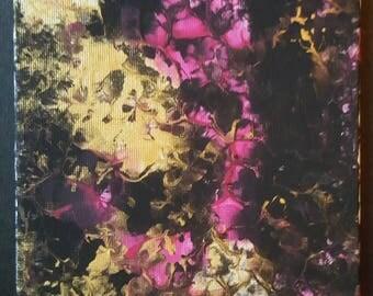 Black/Gold/Pink