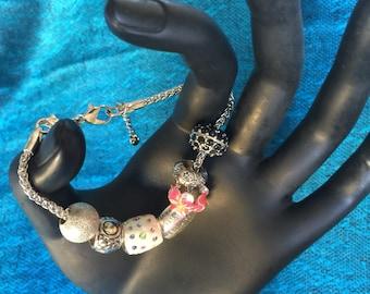 Love Pandora style bracelet