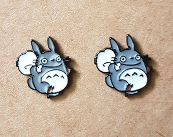 My Neighbor Totoro Carrying Acorn Sack Stud Earrings