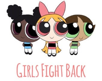 Girls Fight Back Sticker
