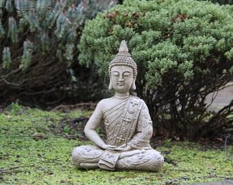 Classic Meditating Buddha Statue Garden Ornament Decor Gift