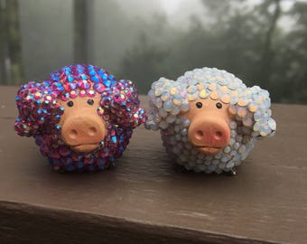 Two Piggies In The Clouds ** CLEARANCE ITEM